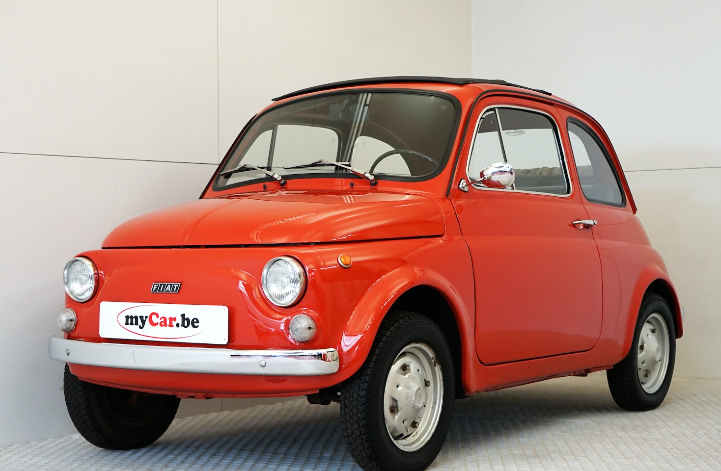 Fiat 500 R Rinnovata Mycar Be Is The Specialist In Almost New