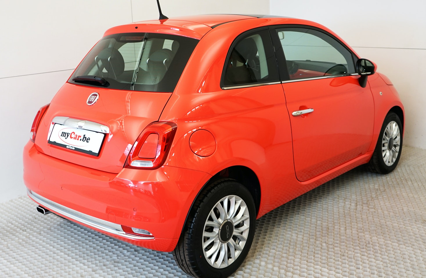 Fiat 500 Lounge Mycar Be Is The Specialist In Almost New Cars