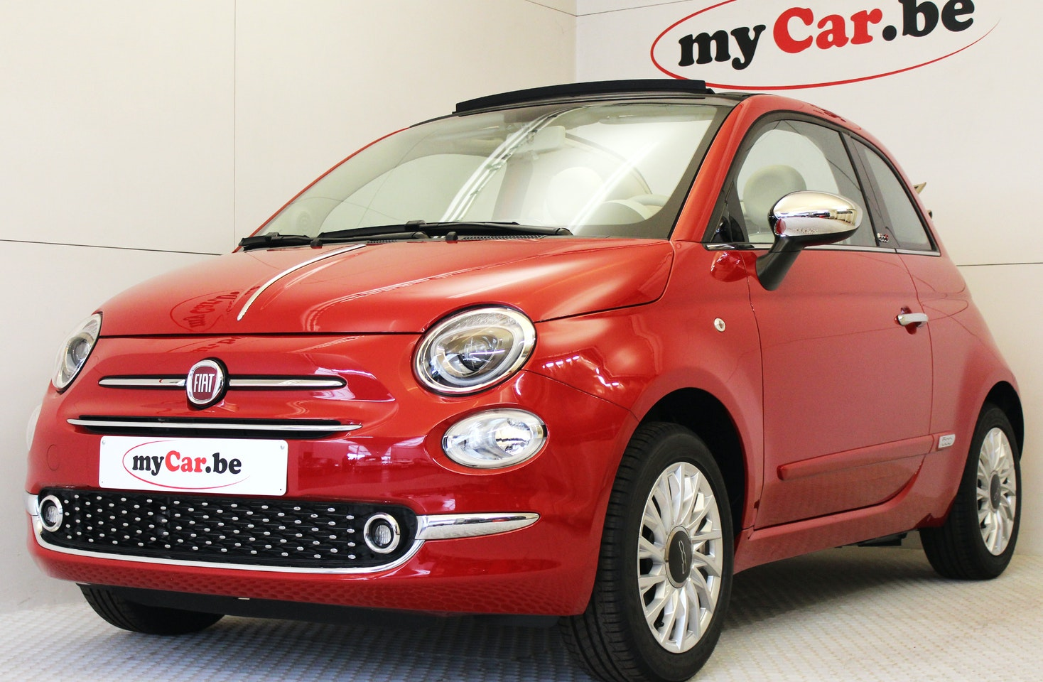 Fiat 500c Lounge Plus Is The Specialist In Almost New 500 Spare Tire Location Next