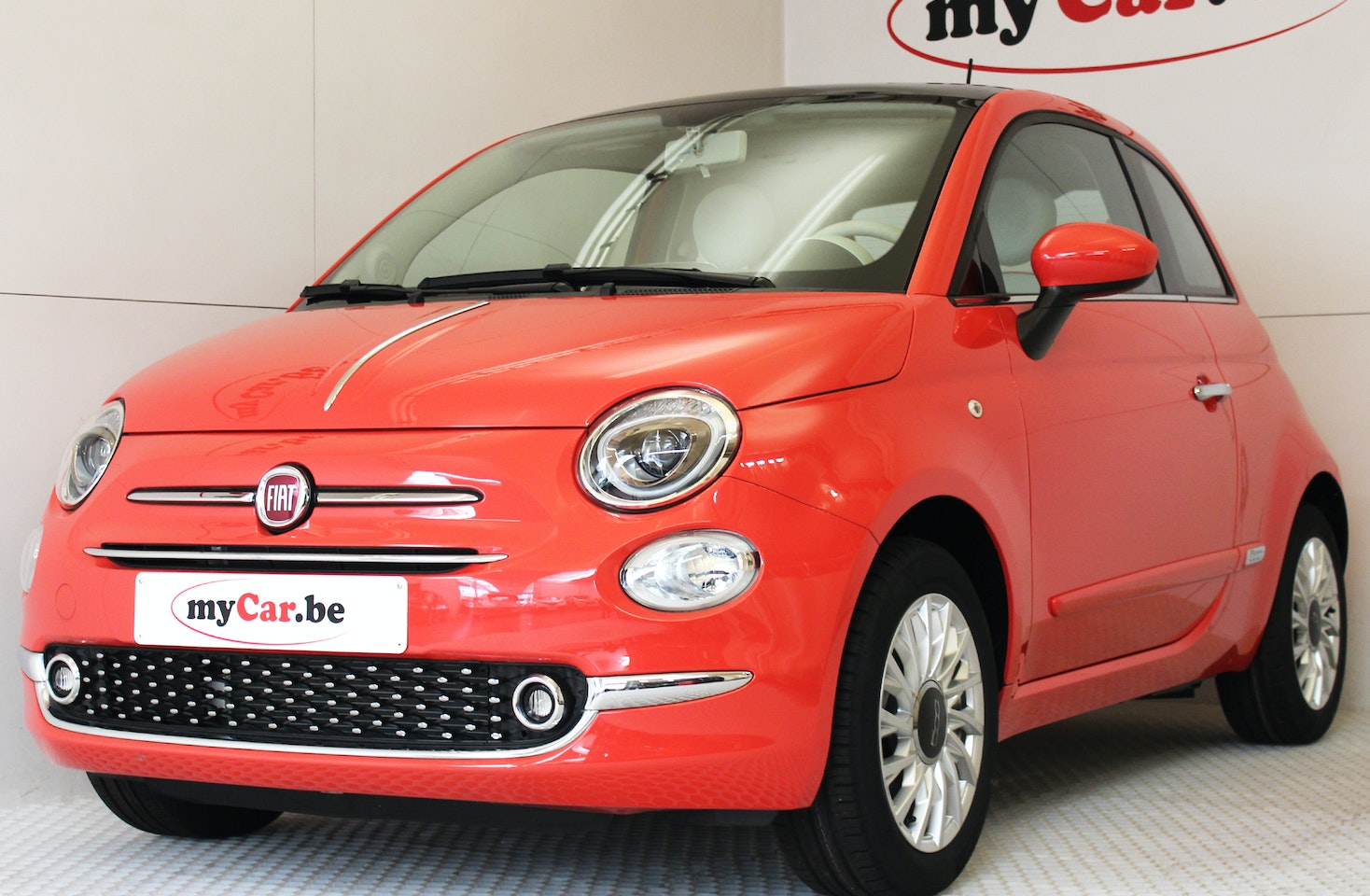Fiat 500 Lounge Plus Mycar Be Is The Specialist In Almost New Cars